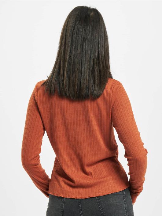 Sublevel Camiseta de manga larga Verona marrón