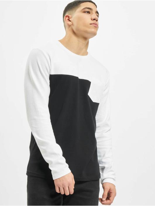 Sublevel Camiseta de manga larga Pocket negro