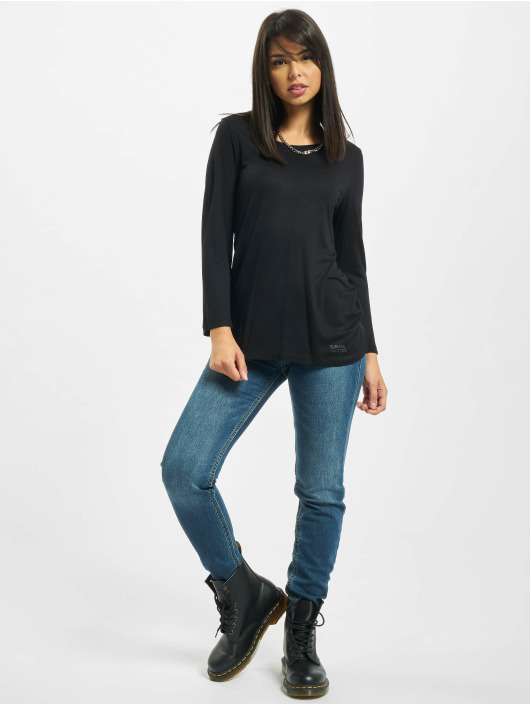 Sublevel Camiseta de manga larga Fine negro