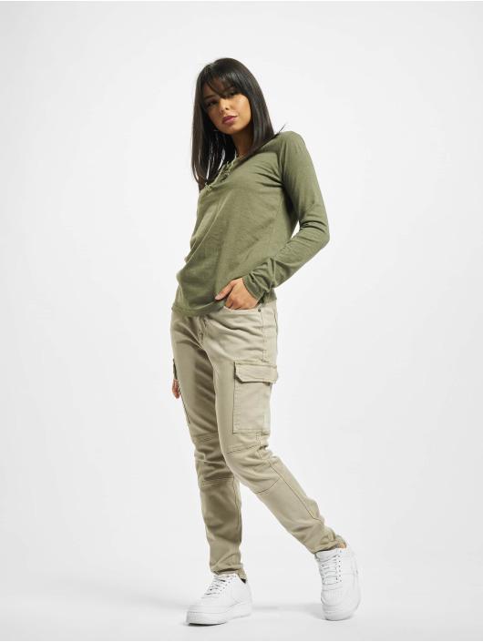 Sublevel Camiseta de manga larga Sessa oliva