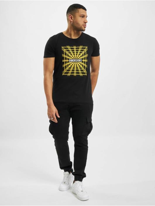 Sublevel Camiseta Dimensions negro