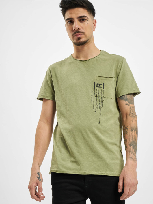 Sublevel Camiseta Lio oliva