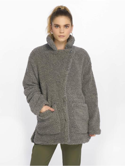 Sublevel Coats Fake Sherpa grey