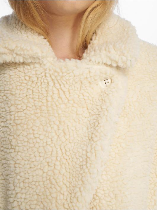 Sublevel Coats Fake Sherpa white