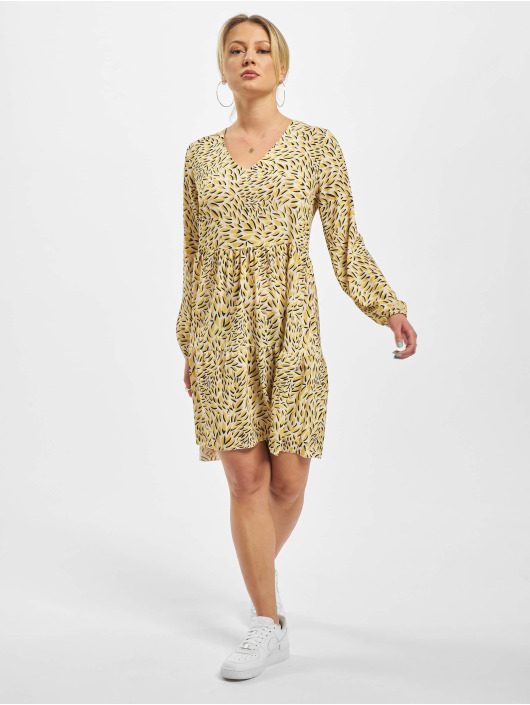 Sublevel Dress Printed yellow