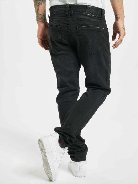 Sublevel dżinsy przylegające Classic czarny