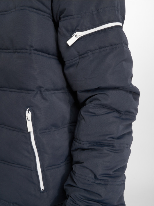 Sublevel Gewatteerde jassen Zipper blauw
