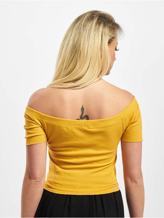 Sublevel Hihattomat paidat Caya keltainen