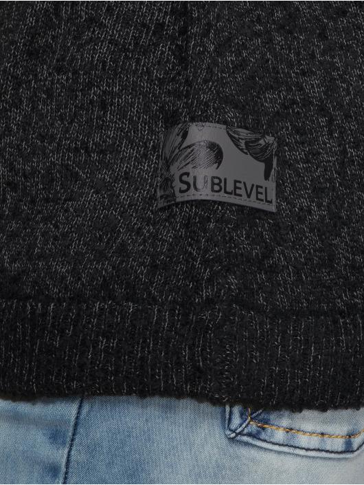 Sublevel Hoodie Marled black