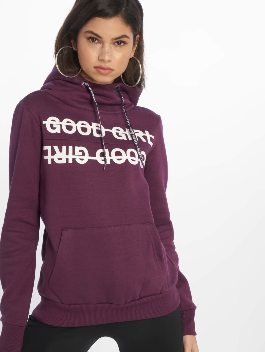 Sublevel Hoodies Good Girl fialový