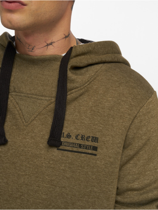 Sublevel Hoodies US Crew grøn