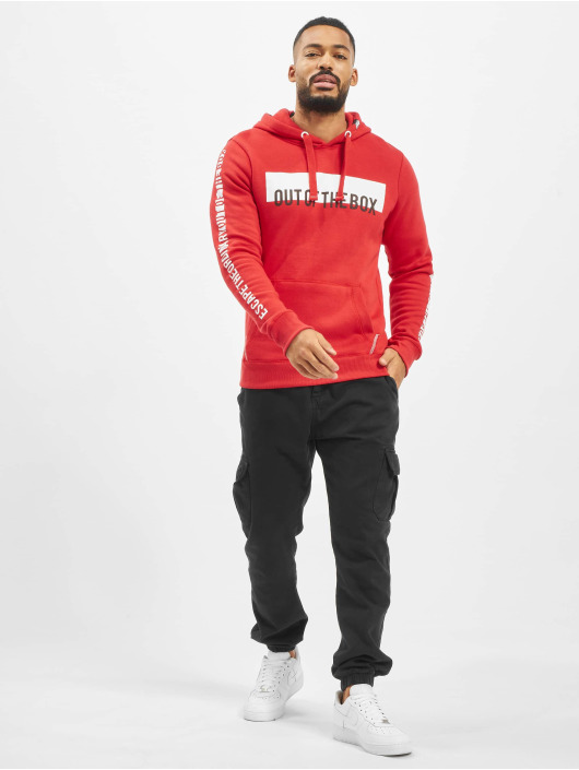 Sublevel Hoody Box rood