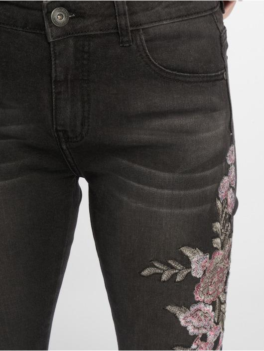 Sublevel Jean skinny Roses noir