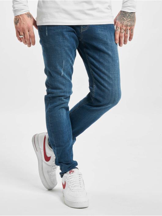 Sublevel Jean slim Cotton bleu