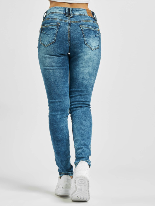Sublevel Jeans slim fit Leonie blu