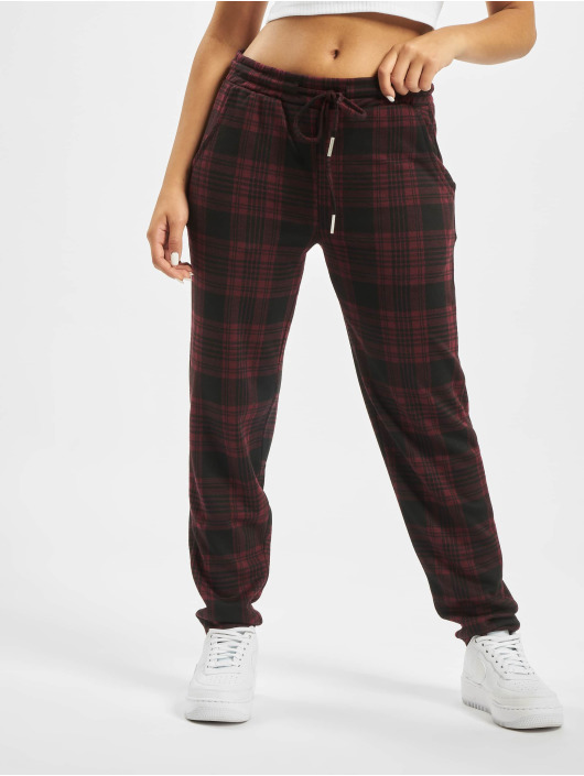 Sublevel Joggebukser Checkered red