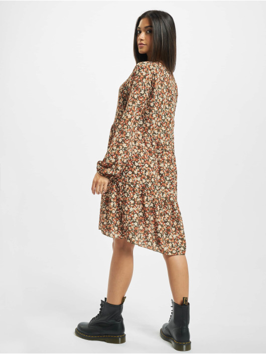Sublevel jurk Romy olijfgroen