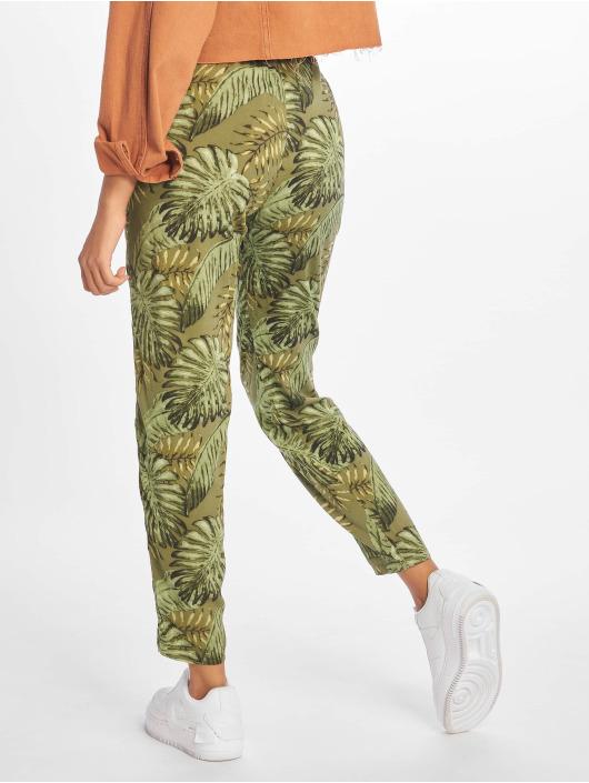 Sublevel Látkové kalhoty Viskose zelený