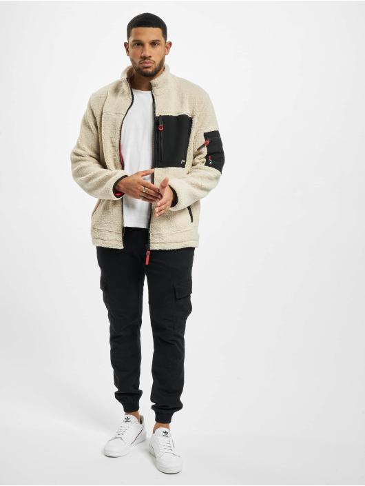 Sublevel Lightweight Jacket Fleece beige