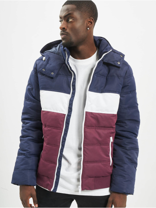 Sublevel Lightweight Jacket 3 Tone blue