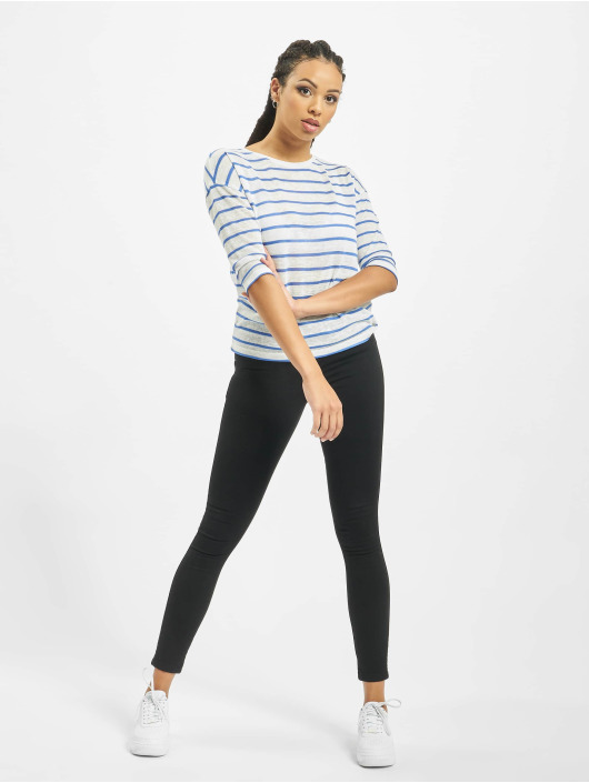Sublevel Longsleeves Stripe bialy