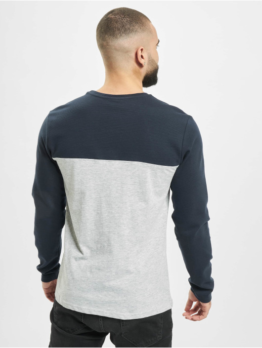 Sublevel Maglietta a manica lunga Pocket grigio