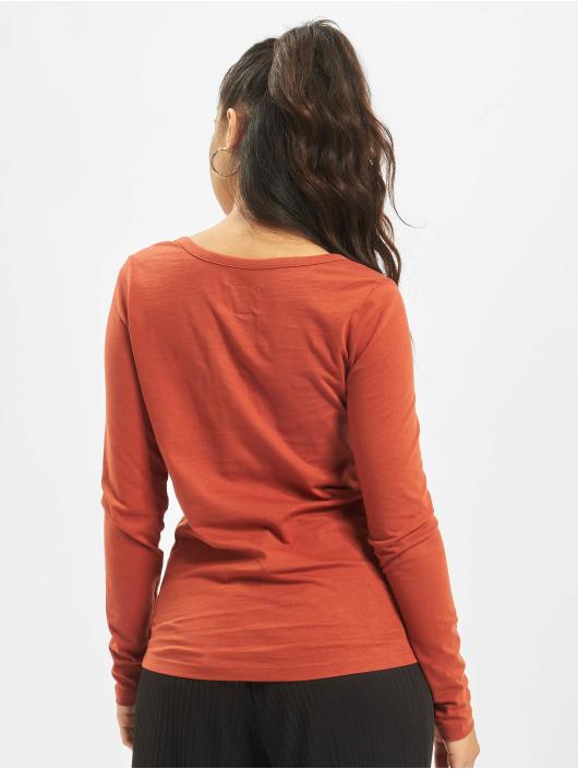 Sublevel Maglietta a manica lunga Lace marrone