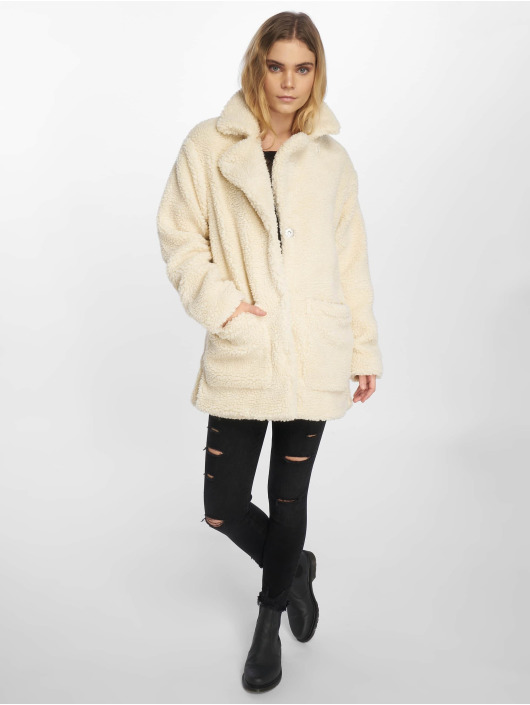 Sublevel Manteau Fake Sherpa blanc