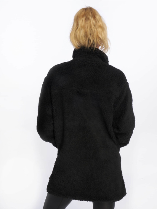 Sublevel Manteau Fake Sherpa noir
