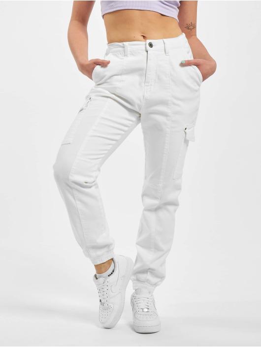 Sublevel Pantalon cargo Sina blanc