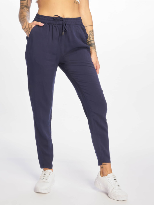 Sublevel Pantalon chino Viskose Pants bleu