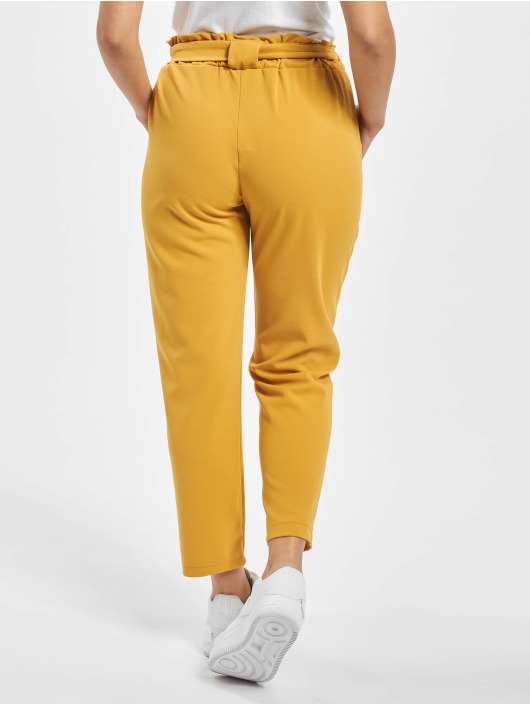 Sublevel Pantalon chino Nella jaune