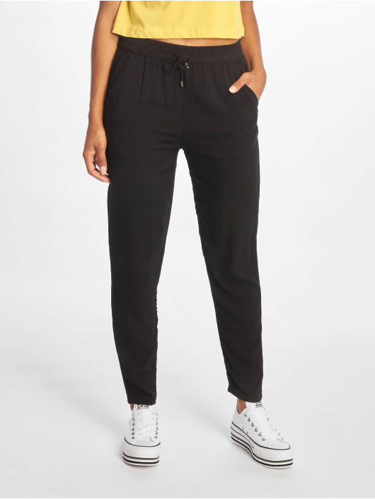Sublevel Pantalon chino Viskose noir