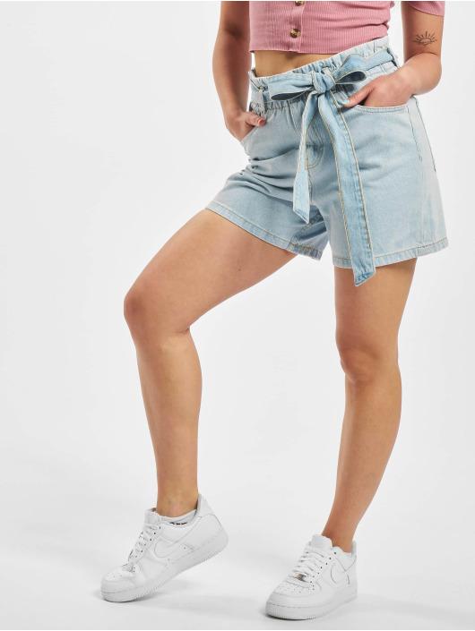 Sublevel Pantalón cortos Tie Belt Shorts azul