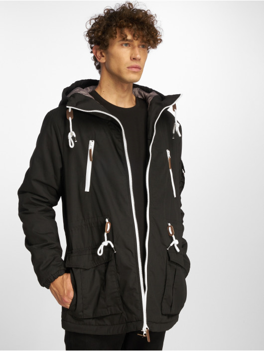Sublevel Parka Pockets zwart