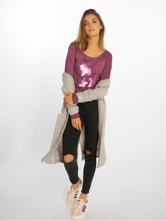 Sublevel Pitkähihaiset paidat Shine Baby purpuranpunainen