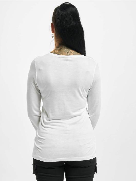 Sublevel Pitkähihaiset paidat Fine valkoinen