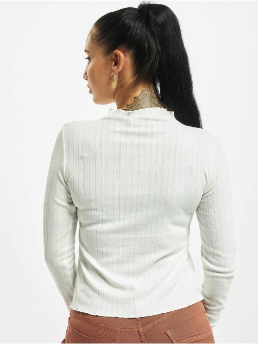 Sublevel Pitkähihaiset paidat Verona valkoinen