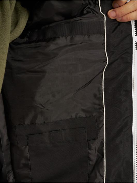 Sublevel Prešívané bundy Zipper èierna
