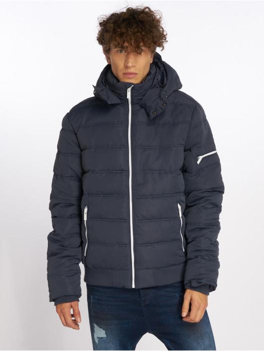 Sublevel Puffer Jacket Zipper blau