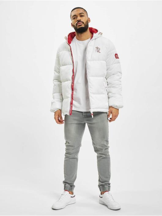 Sublevel Puffer Jacket 2-Tone white