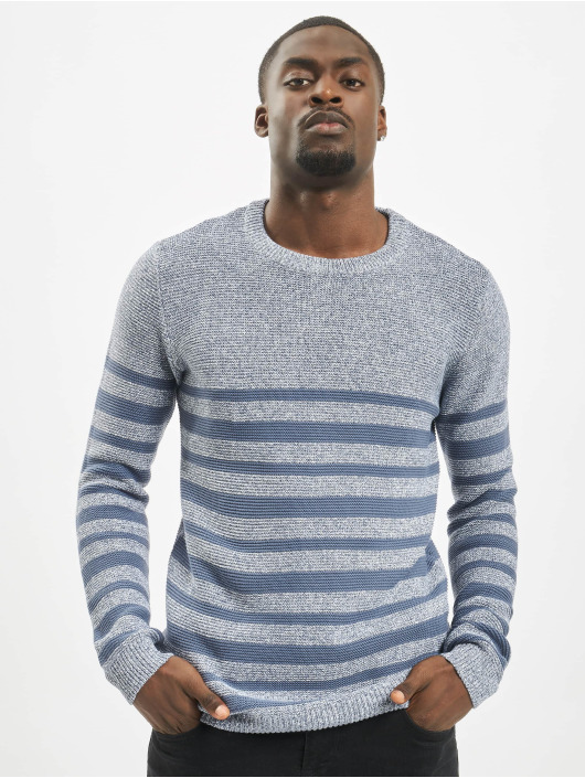 Sublevel Pullover Jerry blau