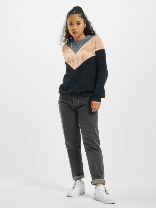 Sublevel Pullover Knit blau