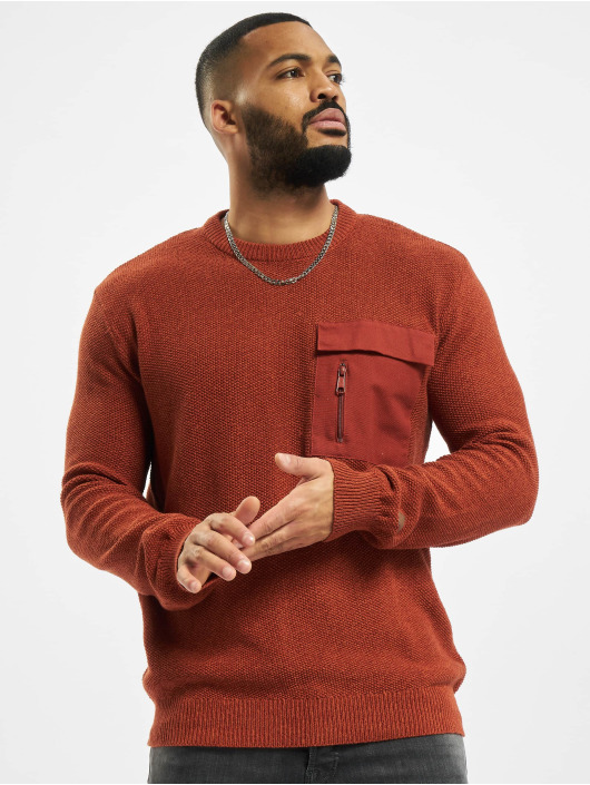 Sublevel Pullover Pocket braun