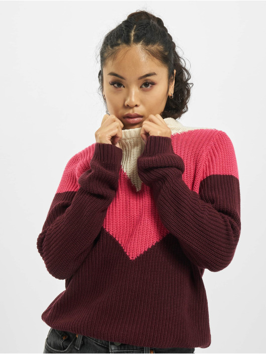 Sublevel Pullover Knit red