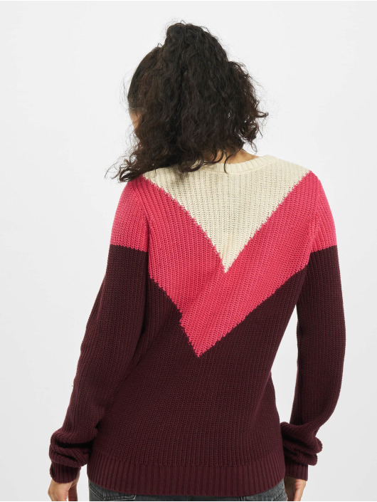Sublevel Pullover Knit rot