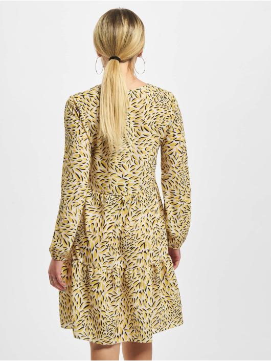 Sublevel Robe Printed jaune