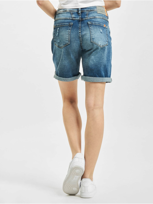 Sublevel Short Denim Bermuda bleu