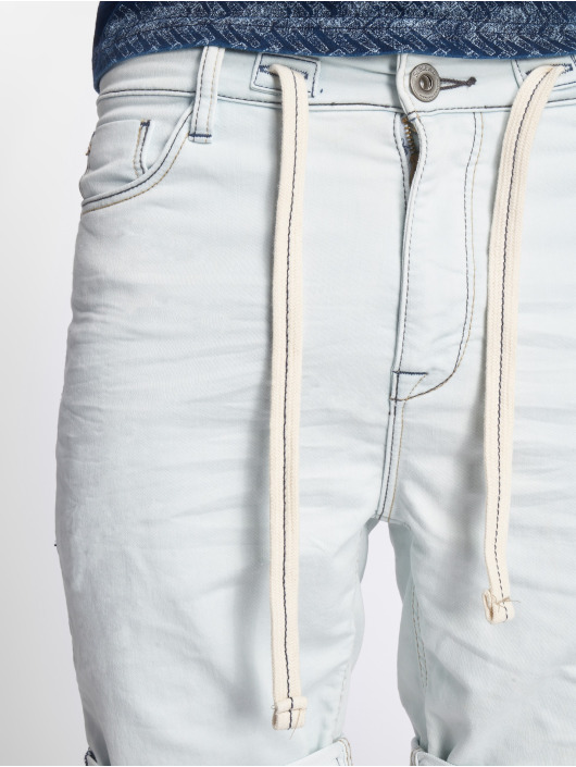Sublevel Shorts Jogg Jeans Bermuda blau