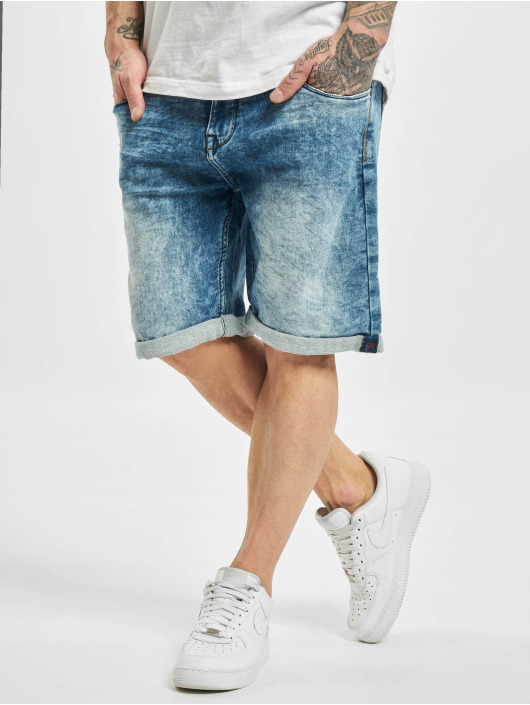 Sublevel Shorts Haka 5-Pocket Bermuda blau